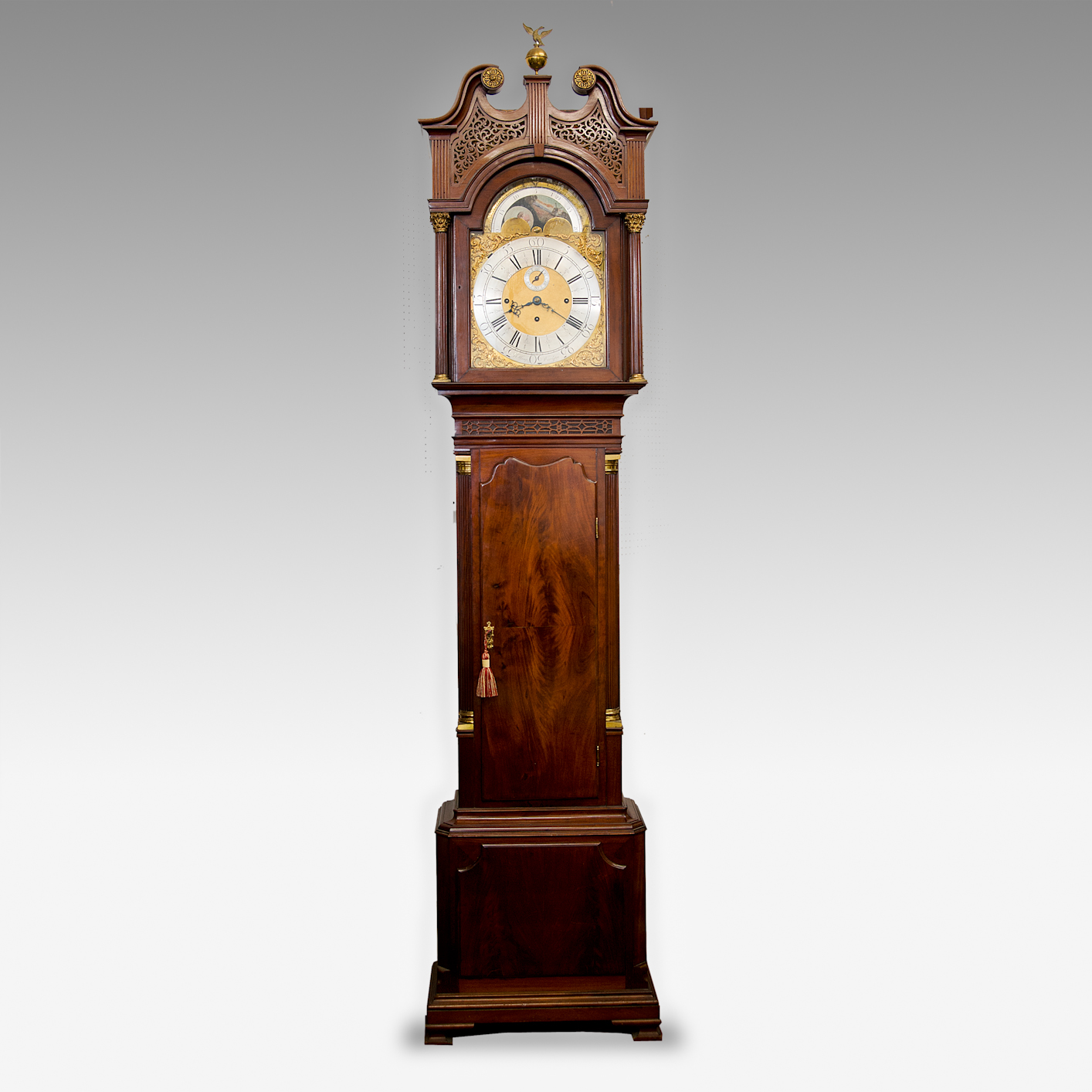 Air Commodore John Chaplin's Grandfather clock
