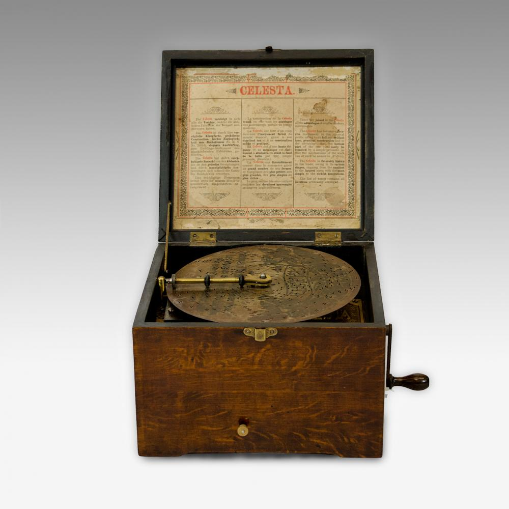 85 Celesta Disc Music Box