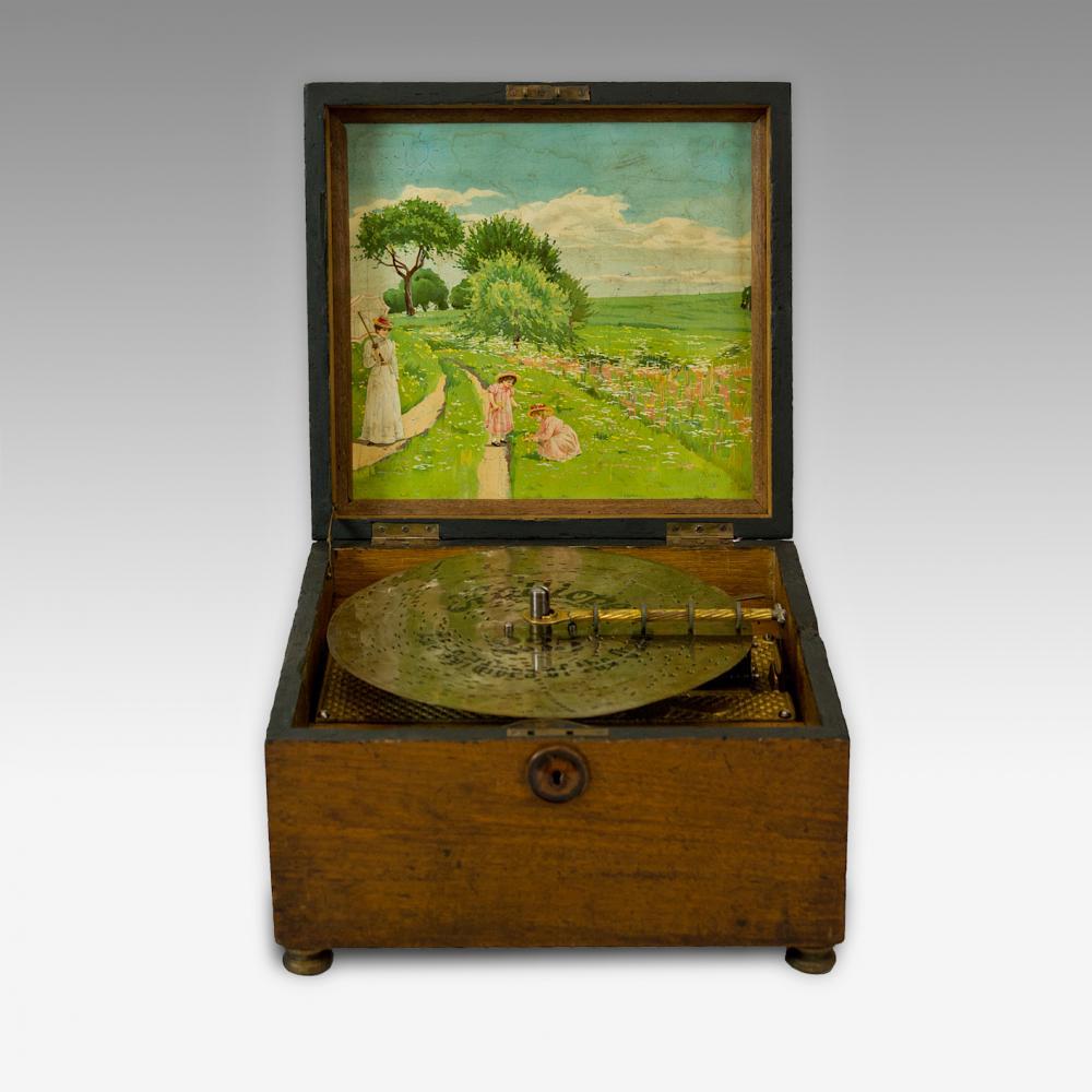 925 Kalliope Disc Music Box