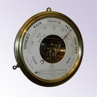 Aneroid Barometer/ thermometer