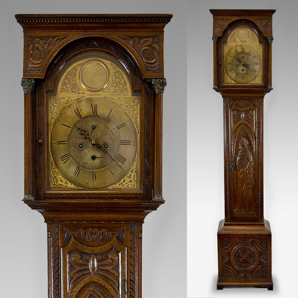antique longcase clocks
