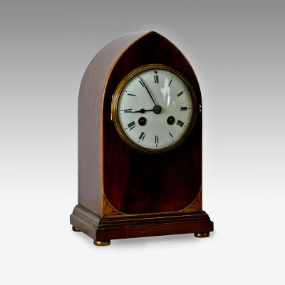 French striking mantle clock