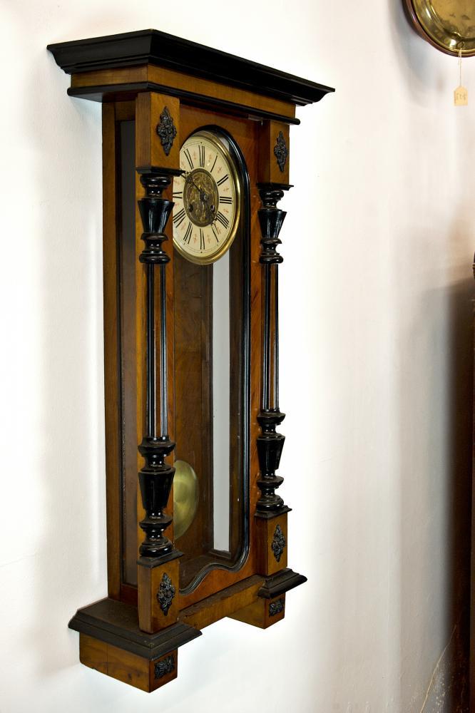 Spring Driven Vienna Type Striking Wall Clock Antique Clocks