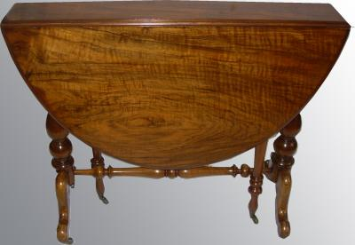 Walnut Sutherland table