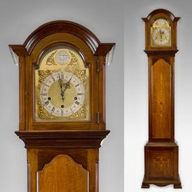 Antique grandfather mantel clocks
